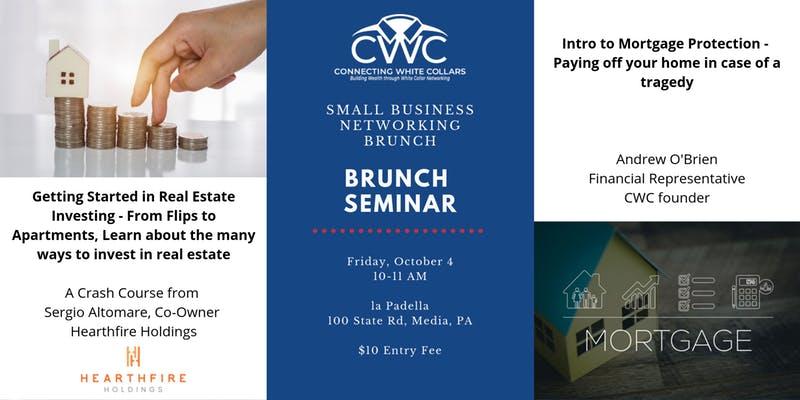Small Business Netwroking Brunch Seminar at la Padella, 100 State Rd, Media, PA.
